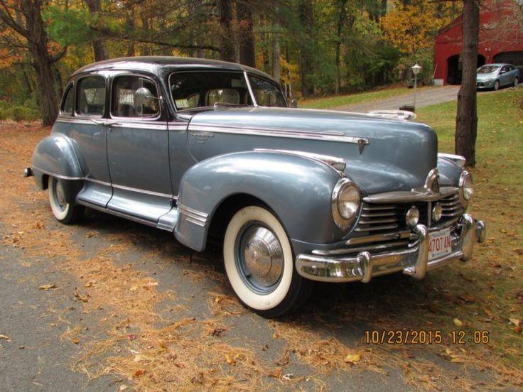 247 best hudson hornets images on pinterest vintage cars for Hudson county motor vehicle