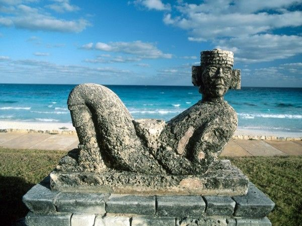 Chac mool cancun Mexico travel and world Wallpaper - Wicked Wallpaper - FREE HD wallpapers