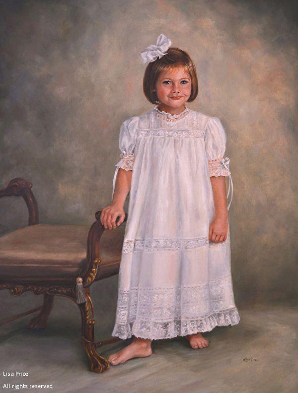 Portrait of Haley-Oil-40x30