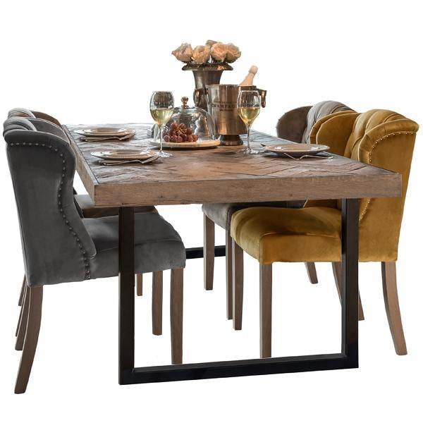 Artur Extending Dining Table In 2019: Kingsbridge Reclaimed Oak Extending Dining Table In 2019