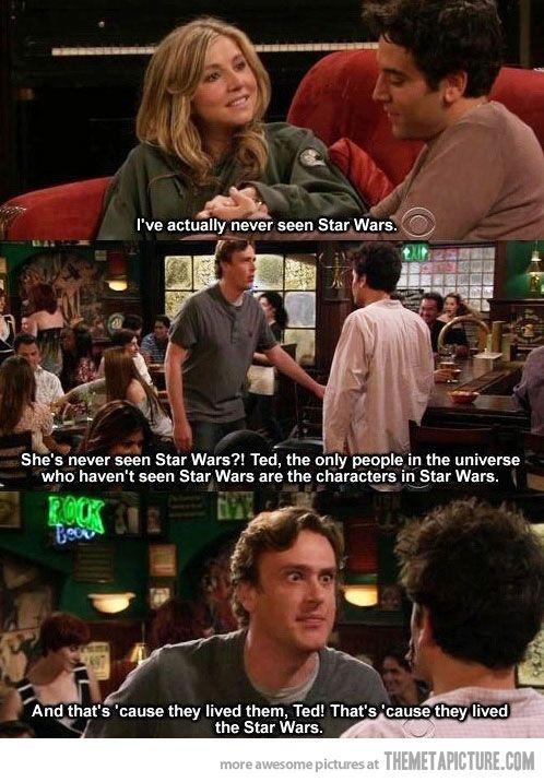 Never seen Star Wars?