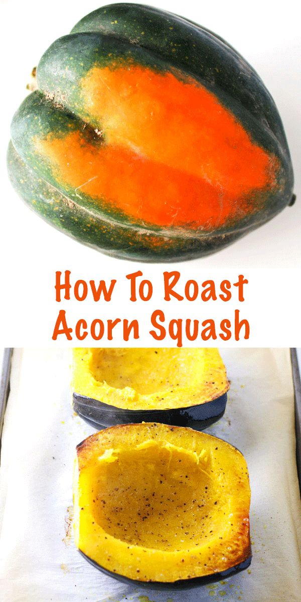 How To Roast Acorn Squash, so easy! Gluten Free, Vegan, and Paleo. | http://Tastefulventure.com