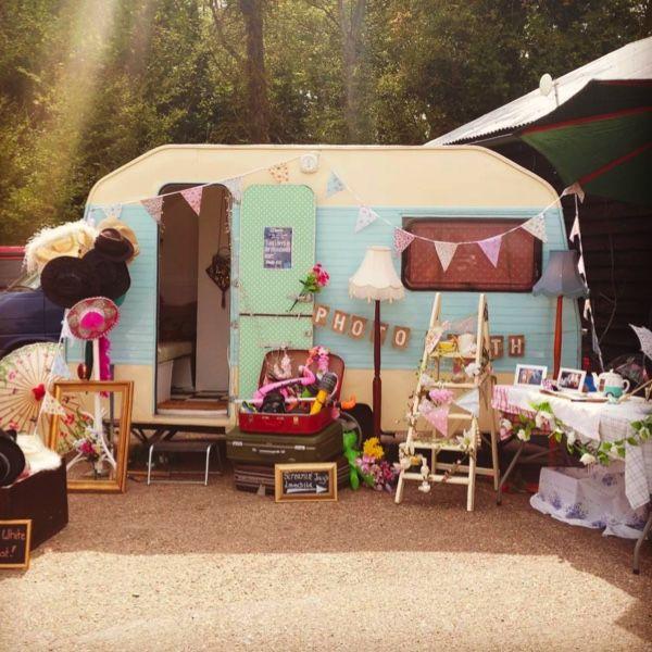 Photobooth caravane