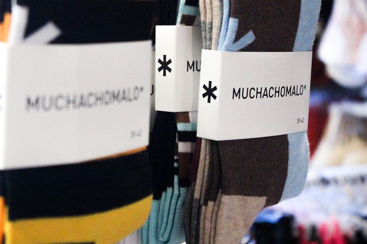Brilliant patterns and colours from Muchachomalo, make their socks wearable art!  #YYC #YYCLiving #YYCLingerie #Lingerie #Socks