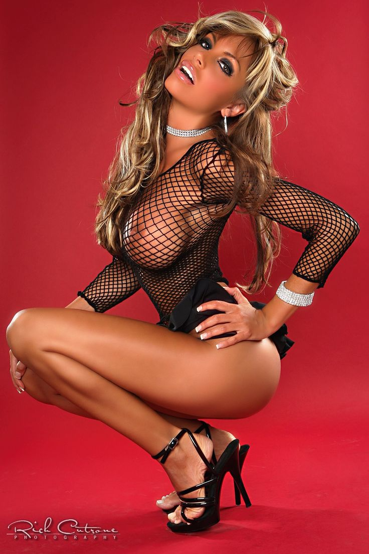 Hot Fishnet Babes