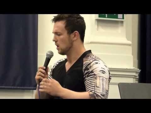 ▶ Collabro - Richard Hadfield singing Empty Chairs at Brighton Rock Choir - YouTube