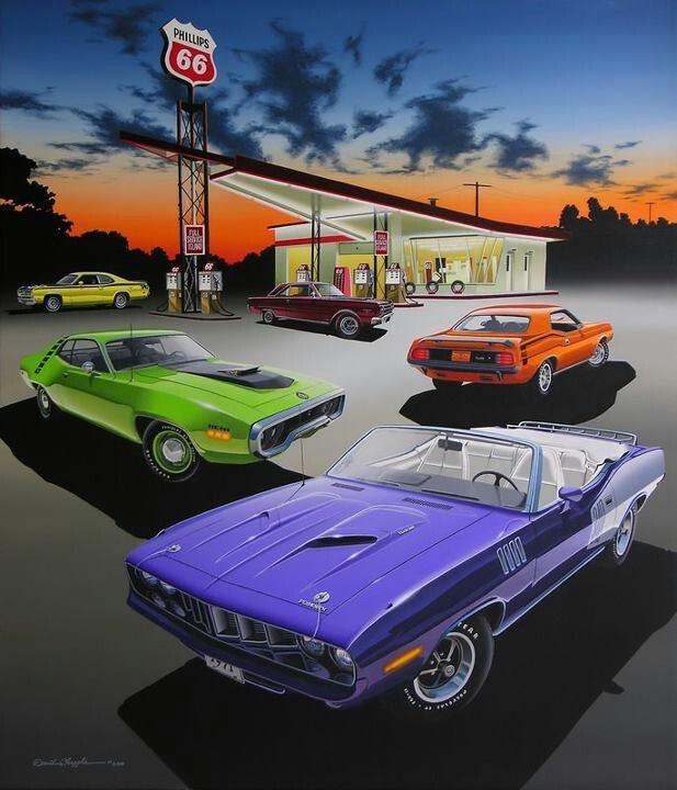 Mobile Auto Garage Signs : Mopar art engines and logos pinterest