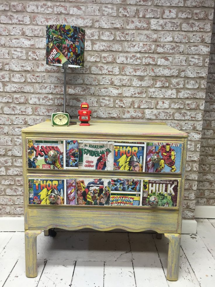 92 best images about diy furniture on pinterest justice for Comic book box shelves