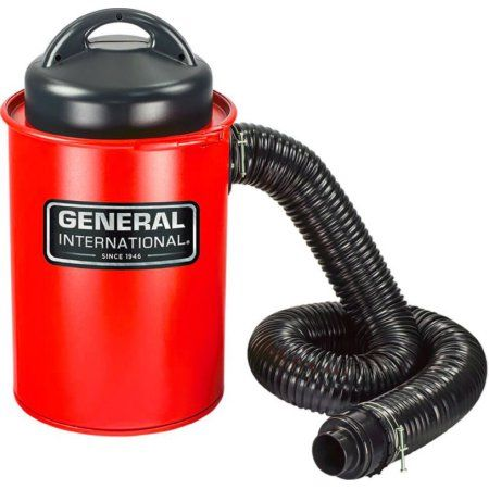 General Intl. Power Products BT8008 2-in-1, 13 Gallon Portable Dust Collector, Red