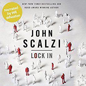 "Another must-listen from my #AudibleApp: ""Lock In (Narrated by Wil Wheaton)"" by John Scalzi, narrated by Wil Wheaton."