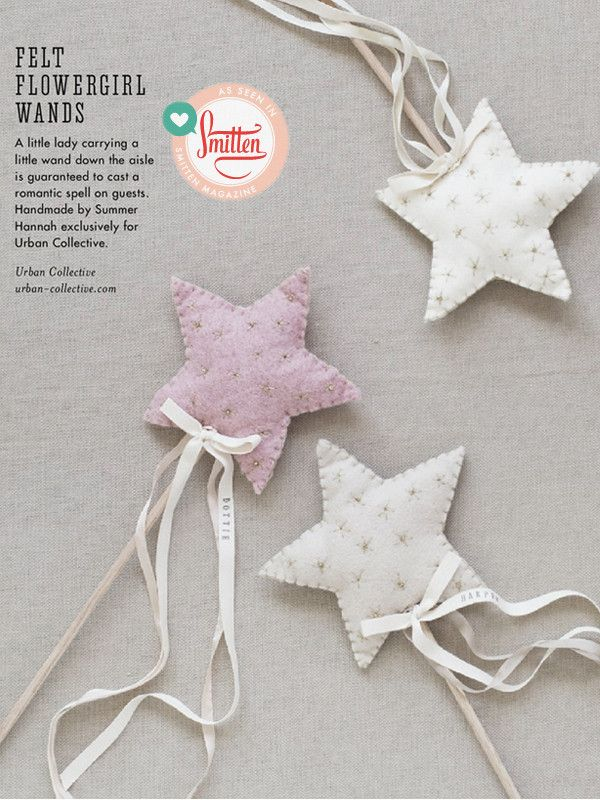 Flower Girl Star Wand