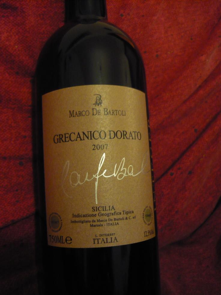Grecanico dorato, De bartoli white wine from Sicily ****1/2
