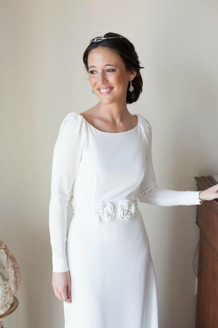 Confesiones de una boda: La boda de María y su vestido de Antonio García