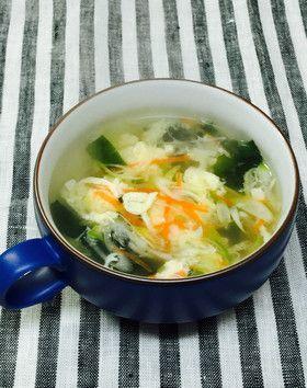 ふわふわ 卵スープ