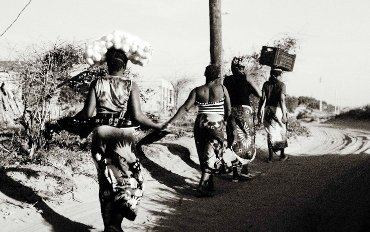 The ladies of the beautiful #country of # Mozambique