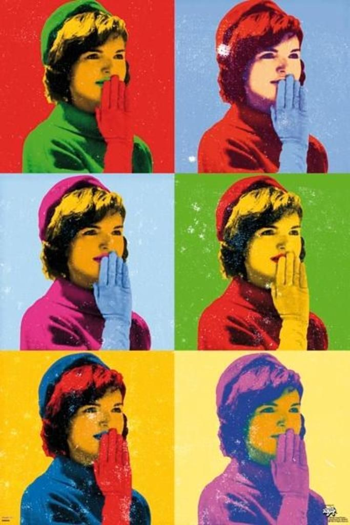 Andy Warhol Jackie Kennedy painting.