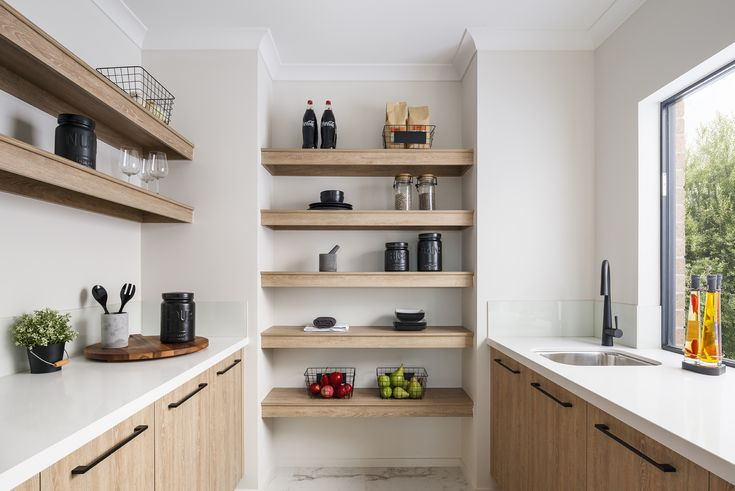 Meet your new best friend, your walk in pantry! On display in our Balmoral at Berwick Waters Estate in Clyde North.