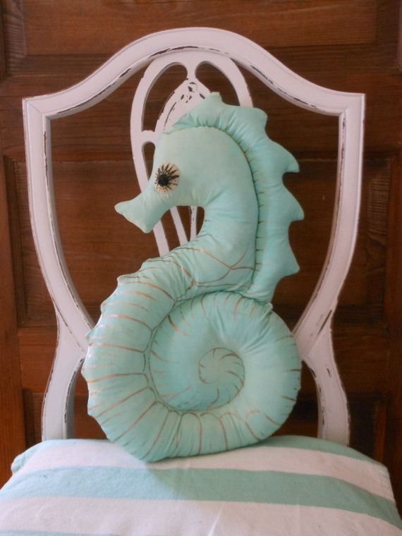 Turquoise Seahorse Pillow. Under the Sea. Nautical Decor for Coastal ...1125 x 1500234.4KBwww.etsy.com