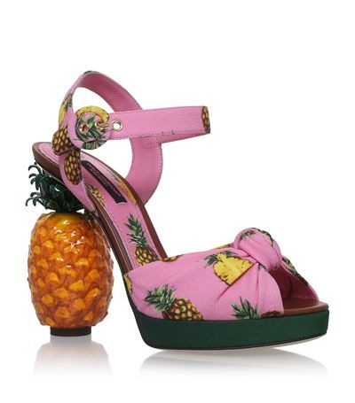 Dolce & Gabbana Anasas Pineapple Sandals available to buy at Harrods. Shop women's designer shoes online and earn Rewards points.