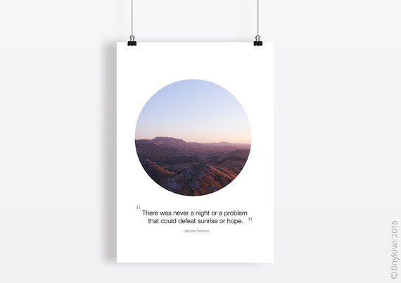 Instant download, Contemporay Wall art, Quote art, Inspirational art, Minimal art, Modern art print, Sunrise, Fine art print, Hope quote