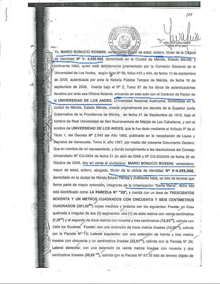 """Rector Mario Bonucci """"Se me acusa de corrupción por ejercer deberes de Rector y derechos de universitario""""   Prensa ULA"""