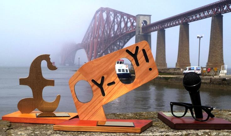 The three 2012 Malcolm Hardee Comedy Awards arrive in Edinburgh...