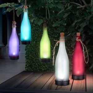 Glass bottle With Solar Light - Amour Decor - 1