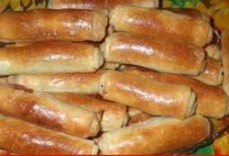Вкуснейшие трубочки-пирожки с начинкой - be1issimo.ru