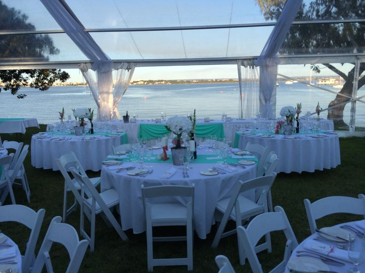 Stunning Marquee Wedding at Matilda Bay.