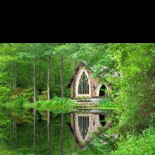 Caton's Chapel in Calloway Gardens, GA