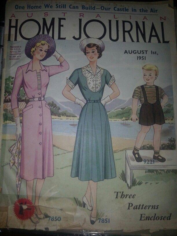 Australian home journal August 1951 cover