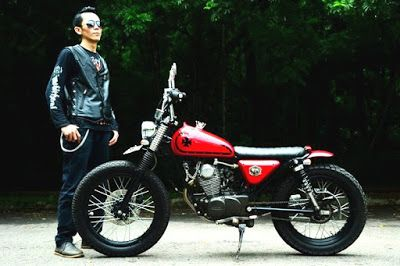 Victorious Custom Works: Honda CB100_Japstyle