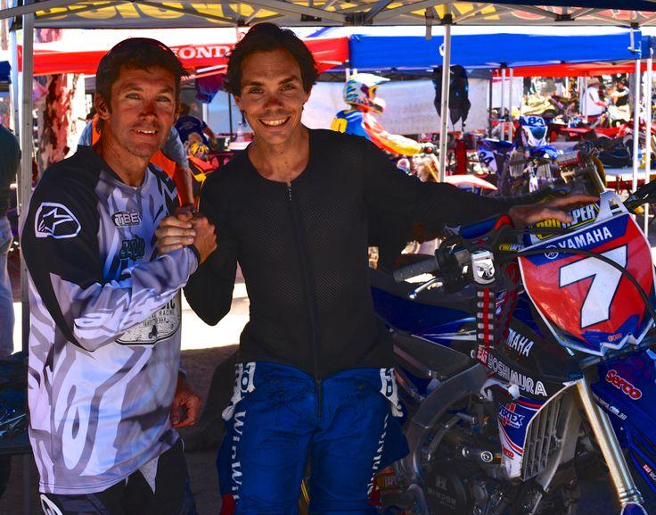 Troy Bayliss and Chris Vermeulen