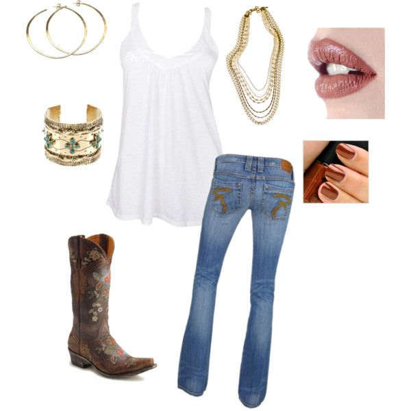 Country Girl, created by highwayangel on Polyvore
