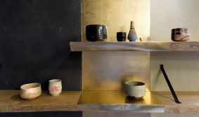 Detail interiéru obchodu s čajem Tea Mountain od studia A1Architects, interior, tea, Zdroj: a1architects.cz #design #czechdesign