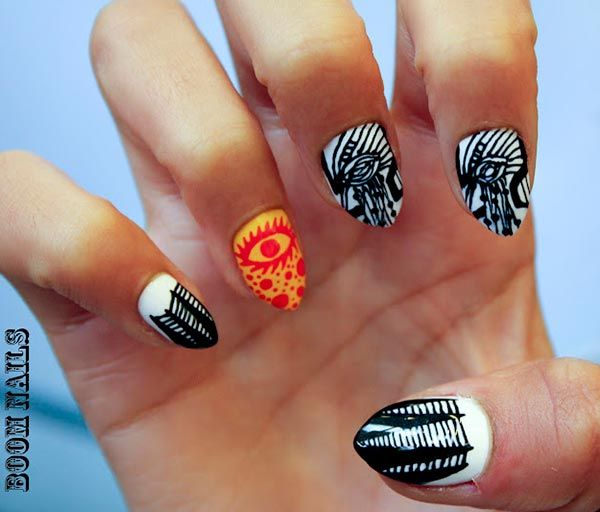 101 Cly Nail Art Designs For Short Nails