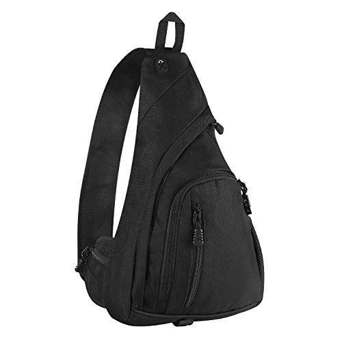 88414ec2f5f8 Sling Backpack for Men, Large Sling Bag Crossbody Purse, Lightweight ...