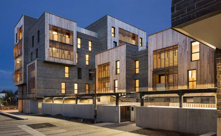 Les 90 meilleures images propos de architecture for Architecture nantes