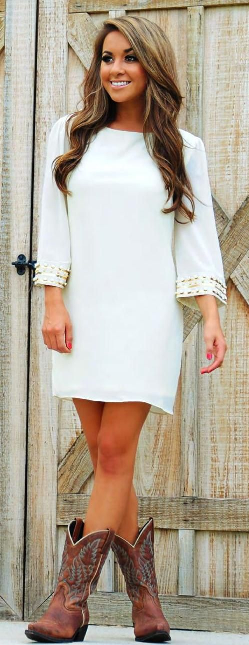 1000+ ideas about Cream Dress Outfit on Pinterest