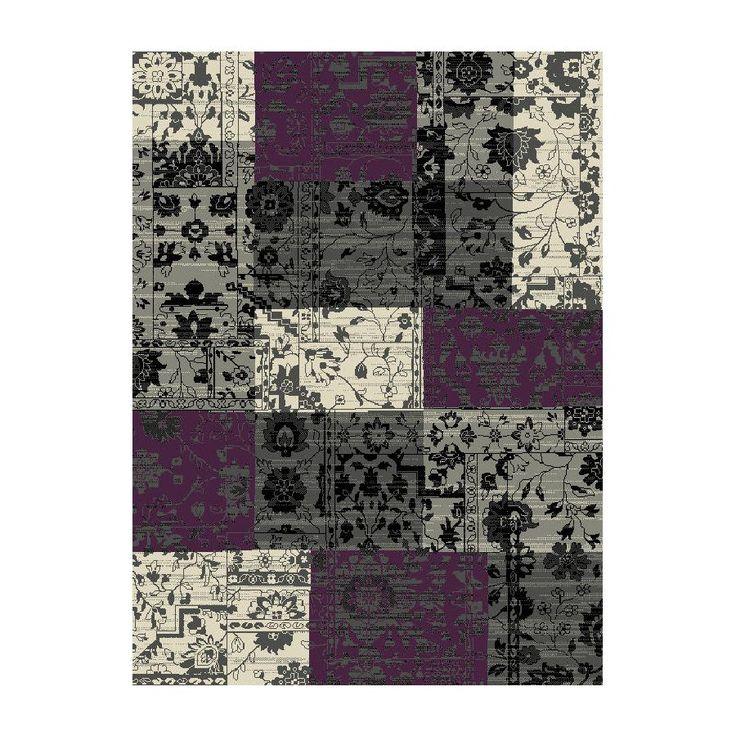 Teppich Heila - Grau/Violett - 120 x 170 cm, Hanse Home Collection