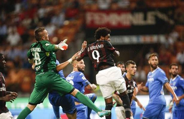 Milan suma sus primeros puntos tras vencer 2-1 al Empoli - AC Milán obtuvo su primera victoria en el futbol italiano, al vencer 2-1 a Empoli en el estadio San Siro, en juego por la fecha dos en el que estren�...