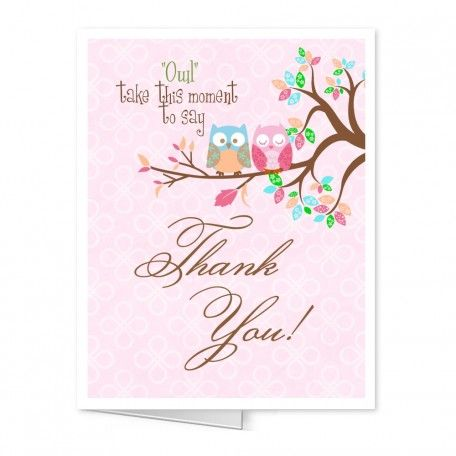 Baby Shower Thank You Notes Pretty Thank You Note to Match Baby
