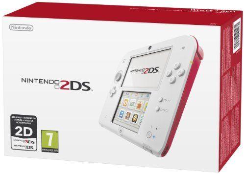 2DS - Console, Bianco/Rosso di Nintendo 127,71€