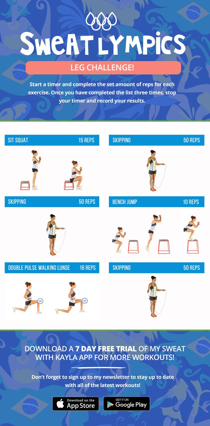 In celebration of the 2016 Rio Olympics, I have decided to create three special workouts for you girls! Grab your friends and have some fun by doing…