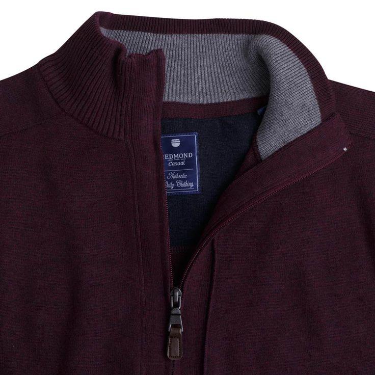 """Ανδρική Ζακέτα """"Ganjafix"""" σε χρώματα Redmond 100% Cotton"""