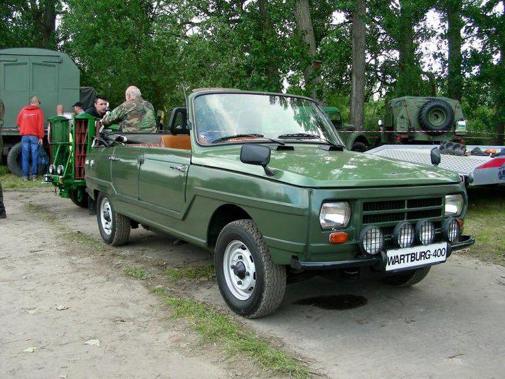 Wartburg 353-400. Kübelwagen schwimmfähig im Auftrag MDI. Zugunsten Trabant Kübel nicht gebaut.