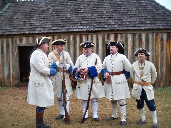 Fort ST. Jean Baptiste: Living history re-enactment