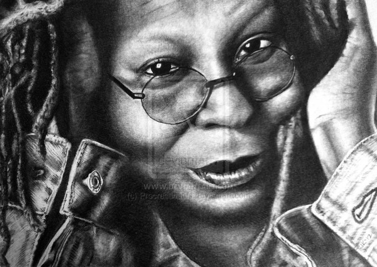 whoopi goldberg coloring pages - photo#25