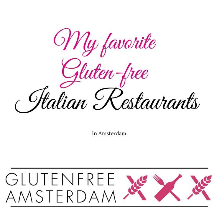 The best Gluten-free Italian restaurants in Amsterdam