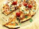 Lovely pizza med chèvre och pinjenötter